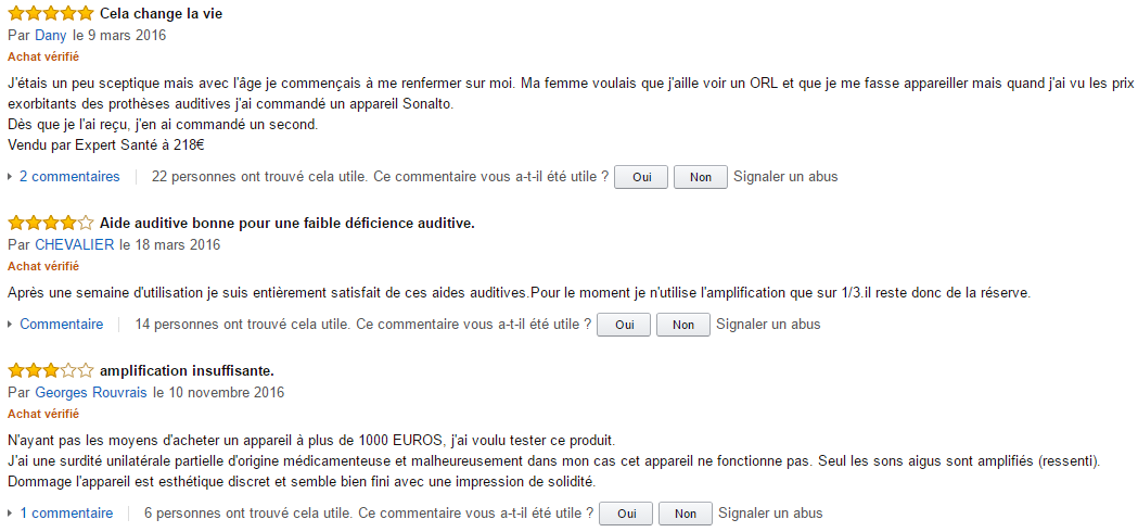 avis amazon optimum audioboutik